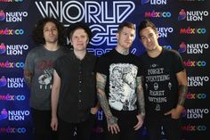 Patrick Stump and Andy Hurley Photos  - MTV World Stage Press Conference - Zimbio