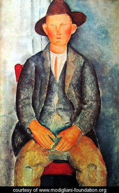 Young Farmer - Amedeo Modigliani - www.modigliani-foundation.org