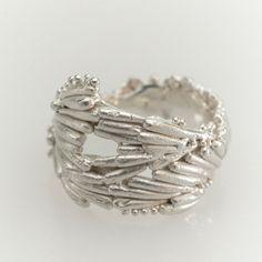 Large Kelp Crown Ring — Sarah Brown Jewellery