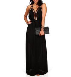 Cute  maxi dress ....