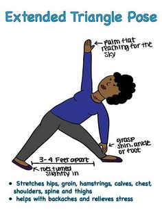 Stress relief pose- Find more stress relief at http://relaxforsuccess.com