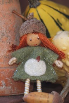 Etsy Transaction - Waldorf Style Bendy Doll woodland gnome