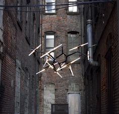 Lindsey Adelman, Agnes Electro Chandelier – Sight... - The Black Workshop