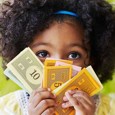 """The other day my 3-year-old son said to me, """"Just go to the bank and they'll give you money,"""" after I told him we couldn't buy a toy he wanted. I realized it was time to explain to him where money comes from. After all, """"it's up to parents to teach their kids smart financial habits,"""" says Jayne Pearl, coauthor of Kids, Wealth, and Consequences. Not sure where to start? Here, Pearl shares the most important money lessons for young children, and how you can help your child ace them."""
