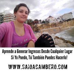 Aprende una nueva profesión que te permite recibir comisiones de un 70% por cada venta!  infórmate en mi web www.saioacambero.com
