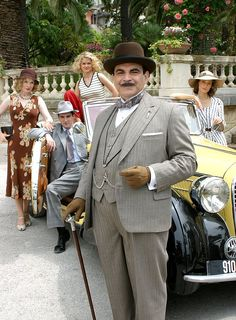 Agatha Christies Poirot.