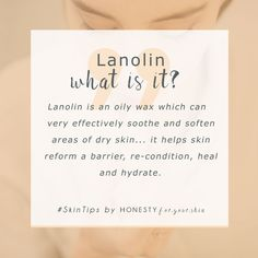 you have always dry lips, you need lanolin in your lip care routine. Lanolin is very effective at remedying all the troubles of dry lips. It does it better than Vaseline. Click above to read all. Skin Tips, Skin Care Tips, Organic Skin Care, Natural Skin Care, Oily Skin, Sensitive Skin, Vaseline, Skin Care Routine For 20s, Dry Lips
