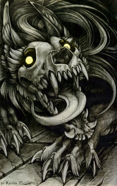Skulldog by RavenMadwolf on DeviantArt