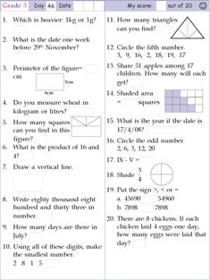 Search Results for Mental math grade 3 2nd Grade Reading Worksheets, 3rd Grade Math Worksheets, Free Math Worksheets, Second Grade Math, Grade 3, Free Reading Comprehension Worksheets, Math Olympiad, Math Pages, Math Homework Help
