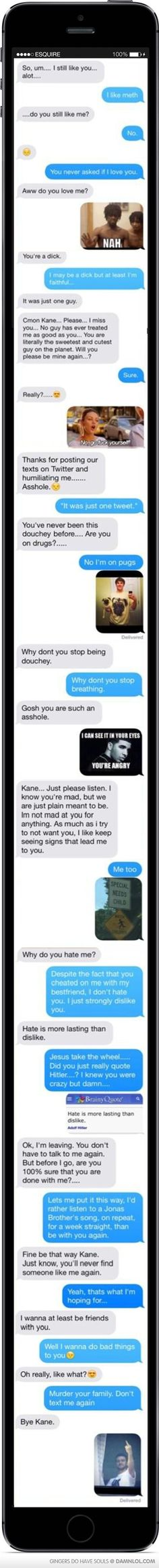 Kane...you, my friend, are awesome.