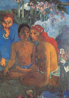 Gauguin No te aha oe riri - Paul Gauguin - Wikipedia