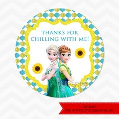 INSTANT DOWNLOAD - Frozen Fever Favor Tags by dpdesigns2012 on Etsy https://www.etsy.com/listing/230436568/instant-download-frozen-fever-favor-tags