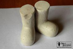 Колодки для кукольной обуви (текстильная кукла) - Ярмарка Мастеров - ручная работа, handmade
