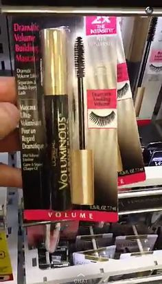 The Drugstore Products Kim Kardashian's Makeup Artist Swears By: L'Oréal Paris Voluminous Mascara in Carbon Black | allure.com