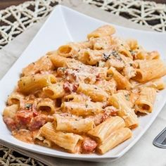 Rigatoni In Blush Sauce