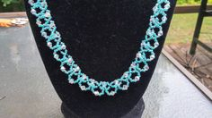 Check out this item in my Etsy shop https://www.etsy.com/listing/237817983/beautiful-beaded-necklace