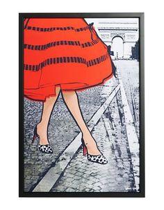 The Oliver Gal Artist Co. Autumn in Paris Print Women's Multi