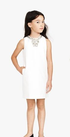 Girls' Collection Cotton Cady Gracen Dress from J.Crew.