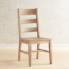 Parsons Natural Whitewash Dining Chair | Pier 1 Imports