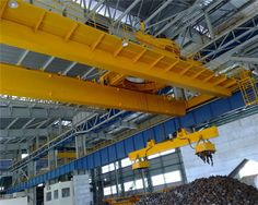 Electromagnetically crane is a kind of crane with a crane with an electromagnetic lift, in Ellsen, we can provide you different types of electromagnetic devices for your steel mill.