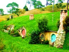 """Slovak Hobbitov"" in Liptovska Teplička, Slovakia. Schengen Area, Carpathian Mountains, Big Country, Central Europe, Bratislava, Mountain Landscape, Out Of This World, Capital City, Czech Republic"