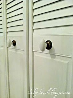 french closet doors diy. DIY Project Parade: Closet Doors - How To Turn BiFold Into French Diy D