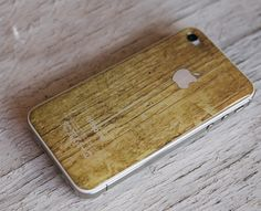 Wood cover IPhone