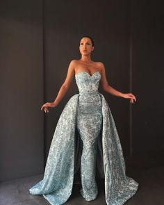 Event Dresses, Formal Dresses, Slit Dress, Gown Dress, Pageant Dresses, Dress To Impress, Evening Gowns, Strapless Dress Formal, Blue Dresses