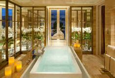 Luxurious Hotel Bathrooms Four Seasons Ritz Carlton Burj Al Arab And