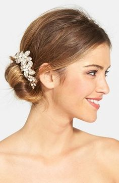 Shop Now - > https://api.shopstyle.com/action/apiVisitRetailer?id=472396807&pid=2254&pid=uid6996-25233114-59 Wedding Belles New York Bead & Crystal Head Comb http://stylishoffer.com/popsug/example/indexus_bride_bridal.php...