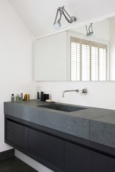 Vanity console idea- Bathroom by Baden Baden Interior Amsterdam Architecture Bathroom, Home, Dream Bathrooms, Classic Bathroom, House Design, Bathroom Inspiration, Bathroom Style, Laundry In Bathroom, Classic Bathroom Design