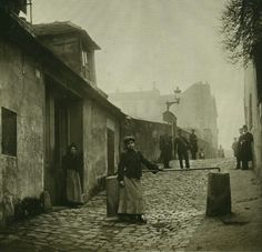Paris 1904 Monmartre                                                                                                                                                      More
