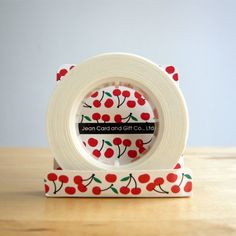 Little Red Cherry Washi Tape by AllMyLittlestThings