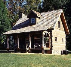 Tiny Log Cabin Home - My retirement home...in the middle of nowhere USA....