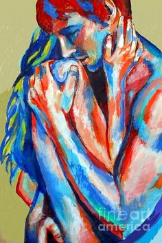 Helena Wierzbicki artwork True Love for sale and offering more original artworks in Painting medium and Abstract Figurative theme. Contemporary artist website Contemporary Painter, Artist from Buenos Aires Argentina. Love Painting, Painting Abstract, Acrylic Paintings, Dark Art Drawings, Erotic Art, Love Art, New Art, Art Inspo, Fine Art America