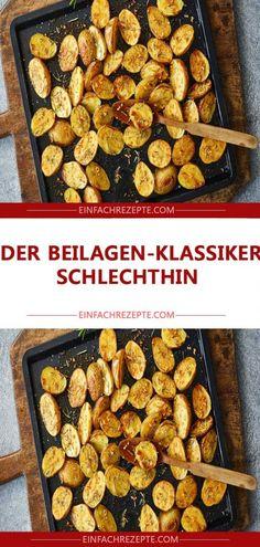 Der Beilagen-Klassiker schlechthin Cereal, Food And Drink, Breakfast, Eat Lunch, Food Dinners, Meat, Potato, Vegan Dishes, No Sugar