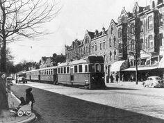 Boergoensestraat met RTM tram