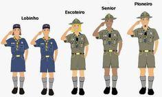 Grupo Escoteiro Iguaçu 43º SC Porto União: Aviso: Novo Uniforme