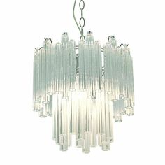 Chrome with Clear Glass Pendant Lights from $99.95