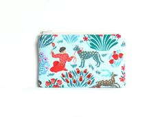Small Zipper Pouch or Coin Purse for Women and Teens by PinkLadyDesigns Amy Butler Splendor $9.25