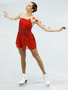 Carolina Kostner (Photo by Oleg Nikishin/ Getty Images)