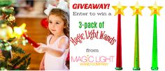 Magic Light Wands giveaway - Enter to win a set of 3 • Review Dad