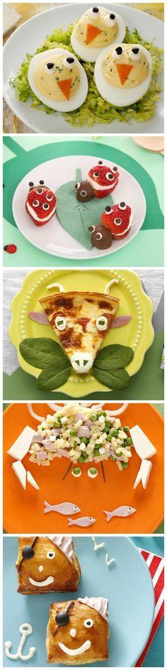 Retrouvez des dizaines de recettes rigolotes à réaliser avec Kiri ! #kiri #recettes #kids #enfant #food #foodart #fun #rigolo #yummy #fromage #cream #cheese