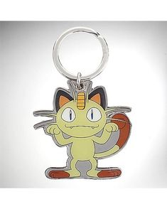 Meowth Pokemon Keychain - Spencer's