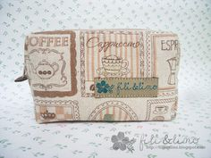 Fili & Lino Crafting Haven: Tutorial: Double Zippers Bolsa