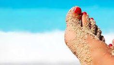 Zand tussen je tenen
