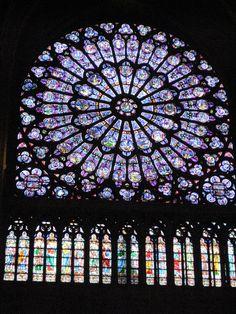 Vitrail, Notre Dame de Paris, #France