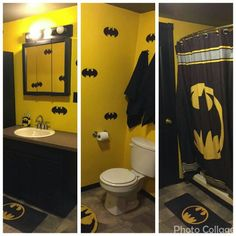 Merveilleux Batman Bathroom