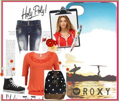 """Roxy Set"" by flop-1 on Polyvore"