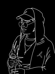 zeamsone ❤️ #wallaper #tapeta Rap Wallpaper, Ikon, Hip Hop, Korea, Darth Vader, Tattoos, Drawings, Fictional Characters, Black